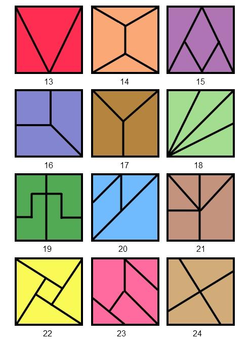 Как из квадратиков составить рисунок