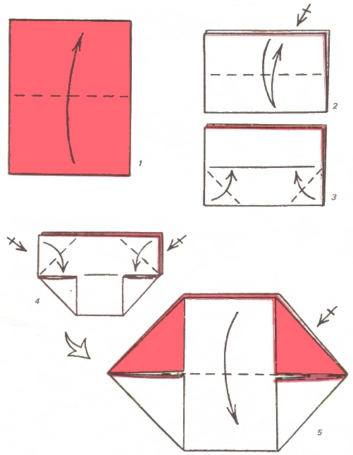 Как сделать ворону из бумаги голову