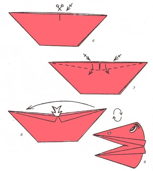 Птички Из Бумаги Инструкция.Doc