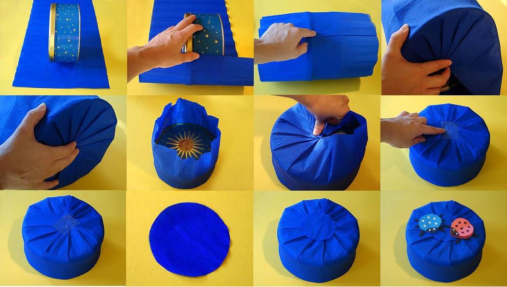 Инструкция как сделать подарок своими руками фото