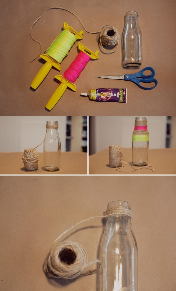 Как сделать из соли и бутылки 58